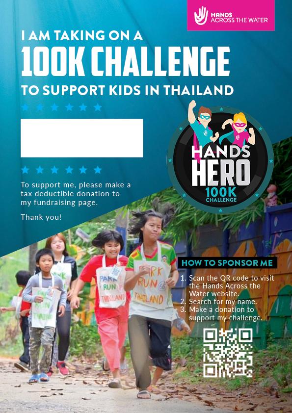 Sponsor Me Poster A4 - Hands Hero 100k Challenge (1)