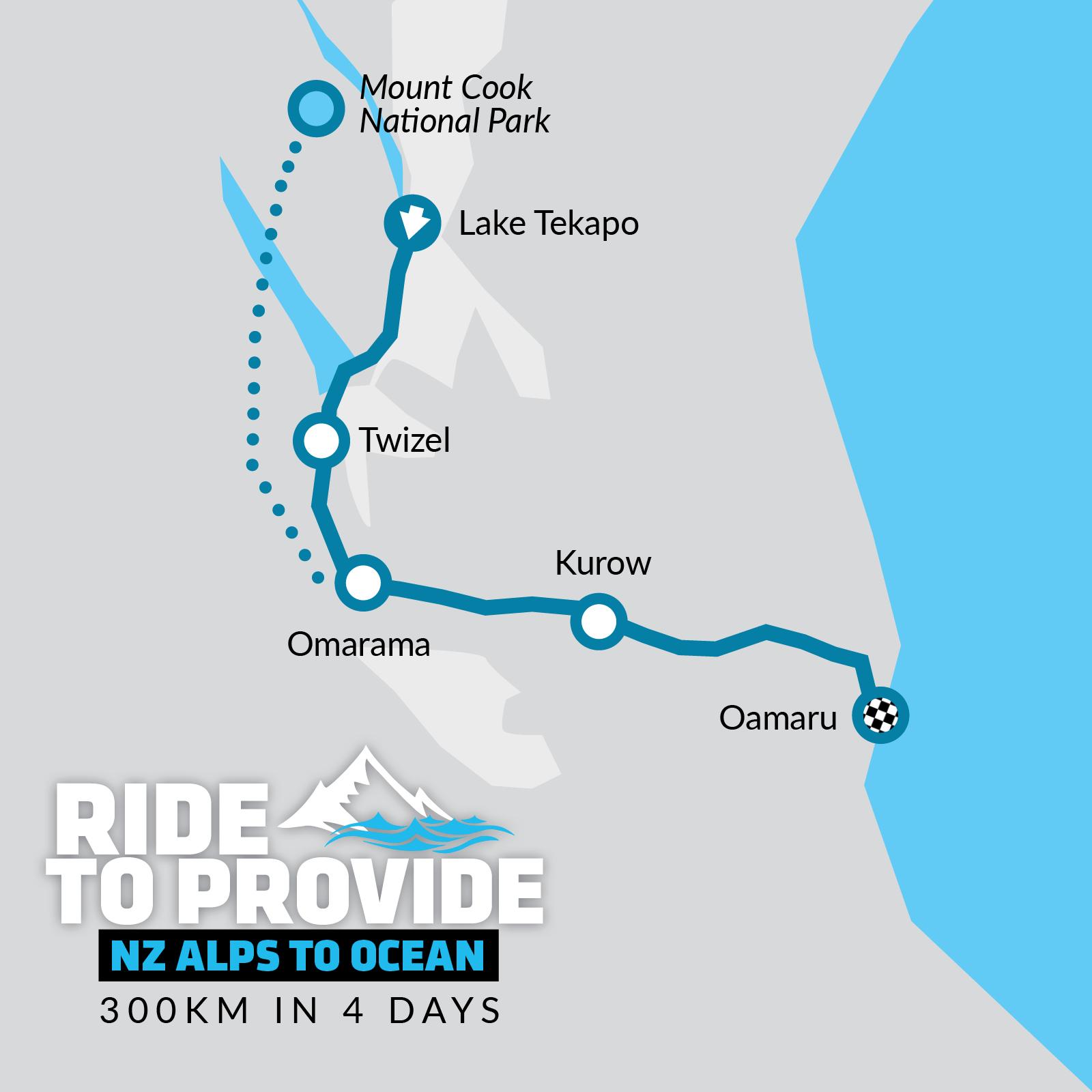 NZ Ride Map Tile