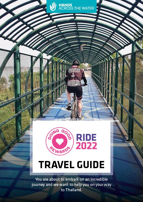 Doing Good Rewards Ride 2022 Travel Guide
