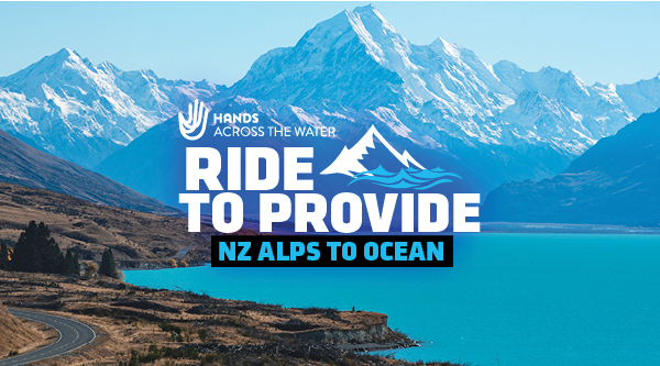 Ride to Provide: NZ Alps to Ocean