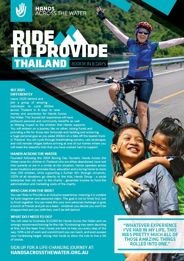 Promotional Flyer - RTP 800km in 8 days